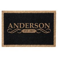 Infinity Anderson 3' x 5' Door Mat in Black