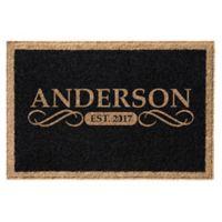 Infinity Anderson 3' x 6' Door Mat in Black