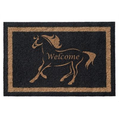Infinity™ Stallion Welcome 3u0027 X 5u0027 Door Mat ...