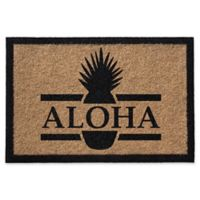 Infinity Aloha 2-Foot x 3-Foot Door Mat in Natural