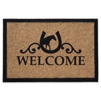 Infinity Reynolds Welcome 2-Foot x 3-Foot Door Mat in Natural