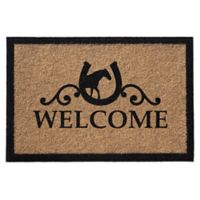 Infinity Door Mats Reynolds Welcome 3-Foot x 5-Foot Door Mat in Natural