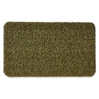 Clean Machine® GrassWorx Flair 18-Inch x 30-Inch Door Mat in Medium Green