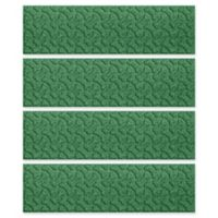 Weather Guard™ Dogbone 8.5-Inch x 30-Inch Stair Treads in Light Green (Set of 4)