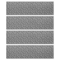 Weather Guard™ Dogbone 8.5-Inch x 30-Inch Stair Treads in Medium Grey (Set of 4)