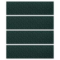 Weather Guard™ Dogbone 8.5-Inch x 30-Inch Stair Treads in Evergreen (Set of 4)