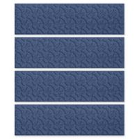 Weather Guard™ Dogbone 8.5-Inch x 30-Inch Stair Treads in Navy (Set of 4)