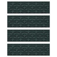 Weather Guard™ Petals Stair Treads in Evergreen (Set of 4)