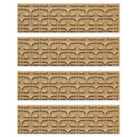 Weather Guard™ Petals Stair Treads in Gold (Set of 4)