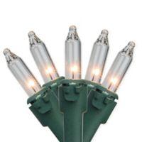 Bethlehem Lighting 46.5-Foot 100-Light Commercial Clear Mini Christmas String Lights