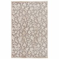 Jaipur Fables Lucie 5-Foot x 7-Foot 6-Inch Area Rug in Ivory/Grey