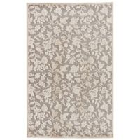 Jaipur Fables Lucie 2-Foot x 3-Foot Area Rug in Ivory/Grey