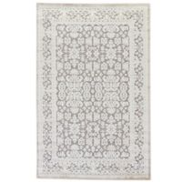 Jaipur Fables Regal 5-Foot x 7-Foot 6-Inch Area Rug in Ivory/Grey