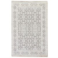Jaipur Fables Regal 9-Foot x 12-Foot Area Rug in Ivory/Grey