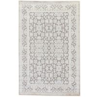 Jaipur Fables Regal 2-Foot 6-Inch x 8-Foot Area Rug in Ivory/Grey