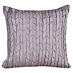 Judith Ripka Silk Twist Throw Pillow in Purple