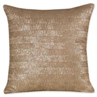 Judith Ripka Sequin Throw Pillow in Tan