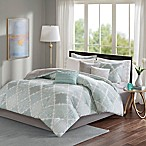 Madison Park Cadence California King Comforter Set in Aqua