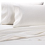 Wamsutta® Zebra 625-Thread-Count PimaCott® Queen Sheet Set in White