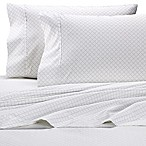 Wamsutta® 525-Thread-Count PimaCott® Trellis Queen Sheet Set in Grey