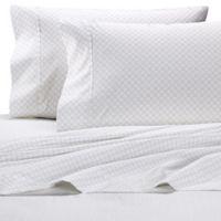 Wamsutta® 625-Thread-Count PimaCott® Trellis California King Sheet Set in Grey