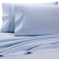 Wamsutta® Cross 625-Thread-Count PimaCott© Sheet Set in Blue