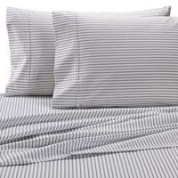 Wamsutta® Stripe 625-Thread-Count PimaCott© King Pillowcases in White (Set of 2)