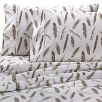 Wamsutta® Feathers 625-Thread-Count PimaCott© Queen Sheet Set in Taupe
