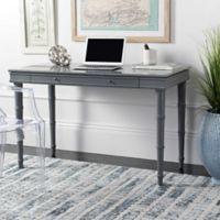 Safavieh Noely Modern Coastal Writing Desk in Grey