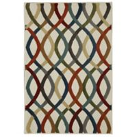 Mohawk Knottingham 8-Foot x 10-Foot Multicolor Area Rug