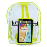 Linsay® 7-Inch Quad Core Kids Tablet with Bag Pack in Black