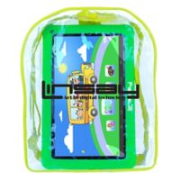Linsay® 10.1-Inch Quad Core Kids Tablet with Bag Pack in Blue