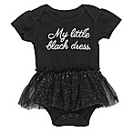 "Baby Starters® Size 3M ""My Little Black Dress"" Tulle Skirt Bodysuit in Black"