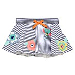 Baby Starters® Size 3M Striped Chambray Flower Tutu