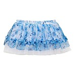 Baby Starters® Size 9M Floral Tulle Tutu in Blue