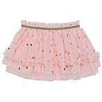 Baby Starters® Size 12M Foil Star Tulle Tutu in Pink