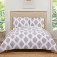 Truly Soft Annika Reversible Twin XL Duvet Cover Set in Orchid
