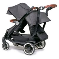 Austlen® Entourage® Double Stroller With Second Seat in Black