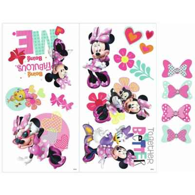 RoomMates® Disney® Minnie Mouse Happy Helpers 3D Wall Decals (Set of 13)