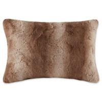 Madison Park Zuri Oblong Throw Pillow in Tan