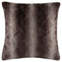 Madison Park Zuri Square Throw Pillow in Chocolate