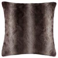 Madison Park Zuri Square Throw Pillow in Chocolate