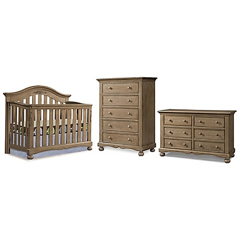 Westwood Design Meadowdale 3 Piece Nursery Furniture Bundle Set In Vintage Buybuy Baby