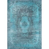Momeni Afsah 5' x 7'6 Area Rug in Blue