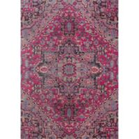 Momeni Jewel Floral 9' x 12' Area Rug in Pink