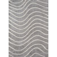 Momeni Charlotte 2' x 3' Loomed Accent Rug in Grey
