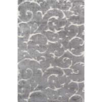 Momeni Charlotte 3'3 x 5' Loomed Area Rug in Grey