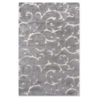 Momeni Charlotte 5' x 7'6 Loomed Area Rug in Grey