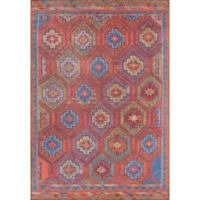 Momeni Afshar Southwest 5' x7'6 Multicolor Area Rug