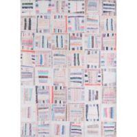 Momeni Afshar Patchwork 2' x 3' Multicolor Accent Rug